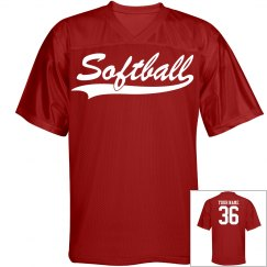 Softball custom name and number sports jersey
