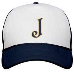 Monogrammed letter J