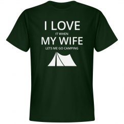 Love wife love camping