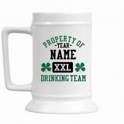 St. Patrick's Drink Team