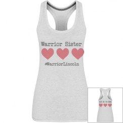 Warrior Sister - #WarriorLincoln