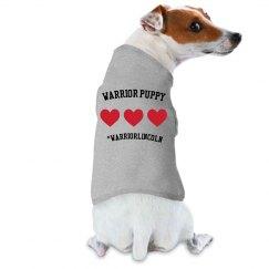 Warrior Puppy - #WarriorLincoln