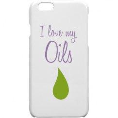 I Love My Oils iPhone 6 Case