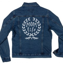 Mom Life for Always Denim Jacket
