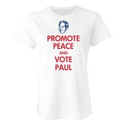 Vote Peace and Ron Paul