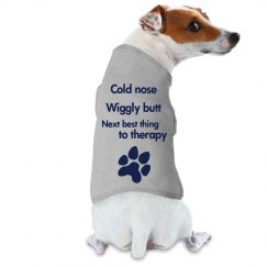 Therapy dog tee