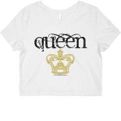 Queen Crop Top