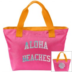 aloha beaches summer bag