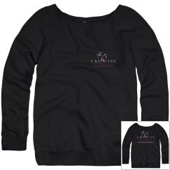Creative Enchantment Wideneck Sweatshirt