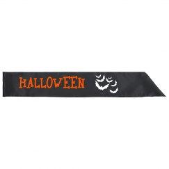 Halloween Sash