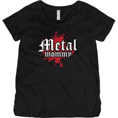 Metal Mommy Maternity T-Shirt