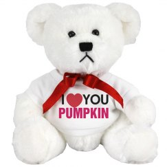 Love you pumpkin
