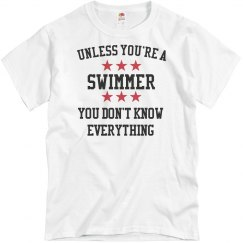 Swimmers know all