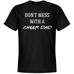 Don't mess with a cheer dad