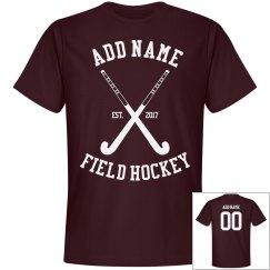 Custom field hockey shirt
