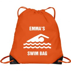 Emma's swim bag