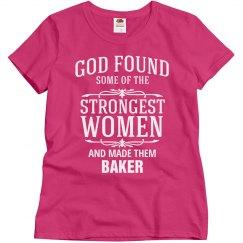 Strong baker
