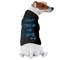 I bite doggie tank top