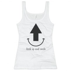 Logo Junior's Tank Top