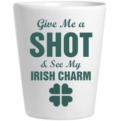Irish Charm Shot Glass