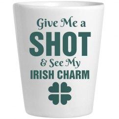 Irish Charm Shot Glass