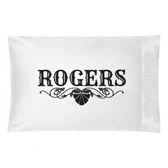 ROGERS.Pillow case