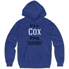 Its a Cox thing