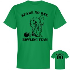 Spare No One Bowling Tee