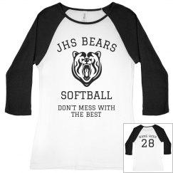 JHS Softball Team Jersey