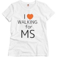 I Heart Walking For MS