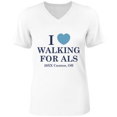 I Heart Walkfing For ALS