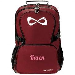 Karen personalized bag