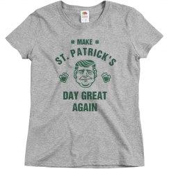 Make St. Pat's Great Irish Trump