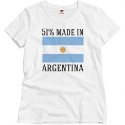 51% made in Argentina