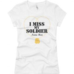 Dog Tag Soldier Love