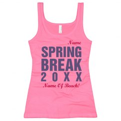Bright Spring Break Tank
