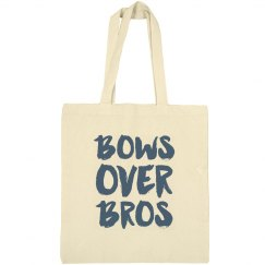 Bows Over Bros Cheerleader Tote Bag
