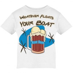 Root Beer Float Ice Cream Tshirt