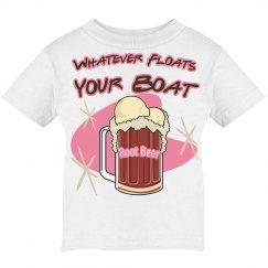 Pink Root Beer Float Icecream T
