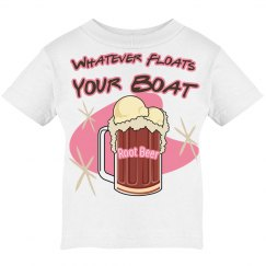 Pink Root Beer Float Icecream T
