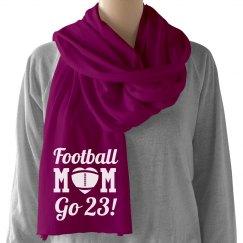 Cozy Football Mom Scarf