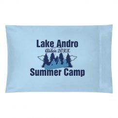 Summer Camp Pillowcase