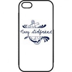 Navy Girlfriend iPhone 5/5s Case