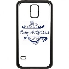 Navy Girlfriend Galaxy S 5 Case