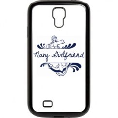 Navy Girlfriend Galaxy S 4 Case