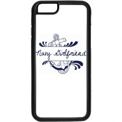 Black and White Navy Girlfriend iPhone 6 Case