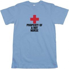 Property of a hot nurse