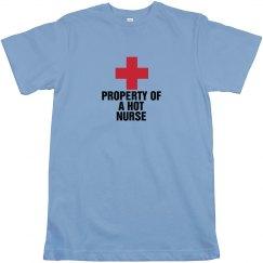 Property of a hot nurse
