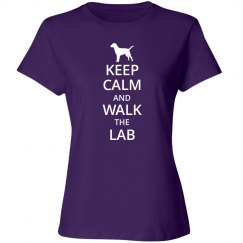 keep calm and walk the lab