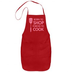 Forced to Cook Apron